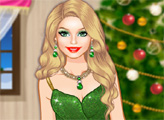Игра Рождественский гламур Барби