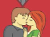 Игра Поцелуй на ночной улице