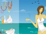 Игра Алва Донна на пляже