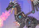 Игра Игрушечная война: Робот Черный дракон