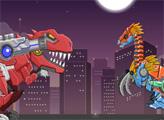 Игра Игрушечная война: Робот Теризинозавр