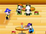 Игра Ресторан панды