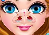 Игра Лечение носа малышки Камрин