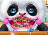 Игра Симпатичная панда у зубного