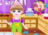 Игра Девочка делает уборку