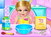 Игра Уход за маленькой Ализой