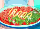 Игра Рецепт Алиши: Морепродукты