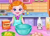 Игра Детский цветной торт
