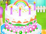 Игра Шеф-повар Фелисия: Радужный торт