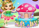 Игра Фантастический дизайн домика-торта
