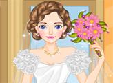Игра Дизайн свадебного платья Элли