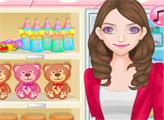 Игра Мама в магазине для новорожденных
