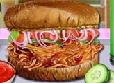 Игра Куриный сэндвич на барбекю