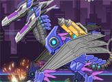 Игра Игрушечная война: Робот Двуглавый Птерозавр