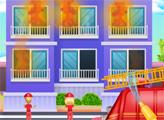 Игра Маленькие пожарные