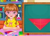 Игра Умная девушка бумажные поделки