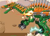 Игра Игрушечная война: Робот Спинозавр