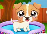 Игра Весёлый щенок