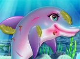 Игра Уход за дельфином