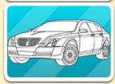 Игра Раскраска 16 автомобилей