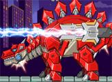 Игра Игрушечная война: Робот Стегозавр