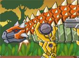 Игра Игрушечная война: Робот Анкилозавр