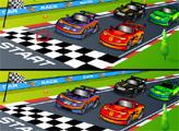 Игра Мультяшные гонки - отличия