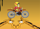 Игра Супер мотоцикл в джунглях