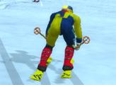 Игра Альпийских лыжник
