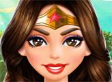 Игра Уход за лицом и макияж Чудо-женщины