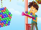 Игра Стрельба пузырями