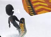 Игра Ниндзя на сноуборде
