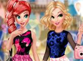Игра Принцессы - лучшие подруги в Париже