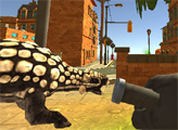 Игра Охотник за динозаврами в Дино-Сити