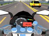 Игра Мото байкер на шоссе