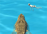 Игра Симулятор крокодила: Пляжная охота