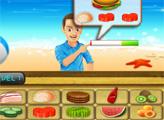 Игра Шеф повар пляжного Бистро