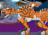 Игра Игрушечная война: Робот Смилодон
