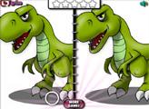 Игра Поиск отличий: Динозавры