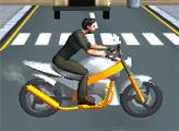 Игра Спортивные мотогонки 3Д
