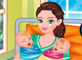 Игра Мамочка близнецов