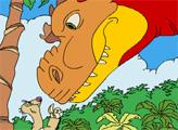 Игра Раскраска - Ледниковый период: Эра Динозавров