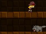 Игра Прыжки в шахте