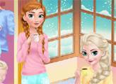 Игра Холодное сердце: уютное время