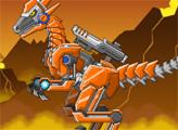 Игра Игрушечная война: Робот Раптор