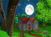 Игра Побег Эварти из лесного домика