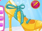 Игра Туфли принцессы Барби