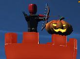 Игра Хэллоуин лучника 3Д
