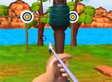 Игра Эксперт по стрельбе из лука: Малый остров