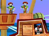 Игра Перестрелка с пиратами